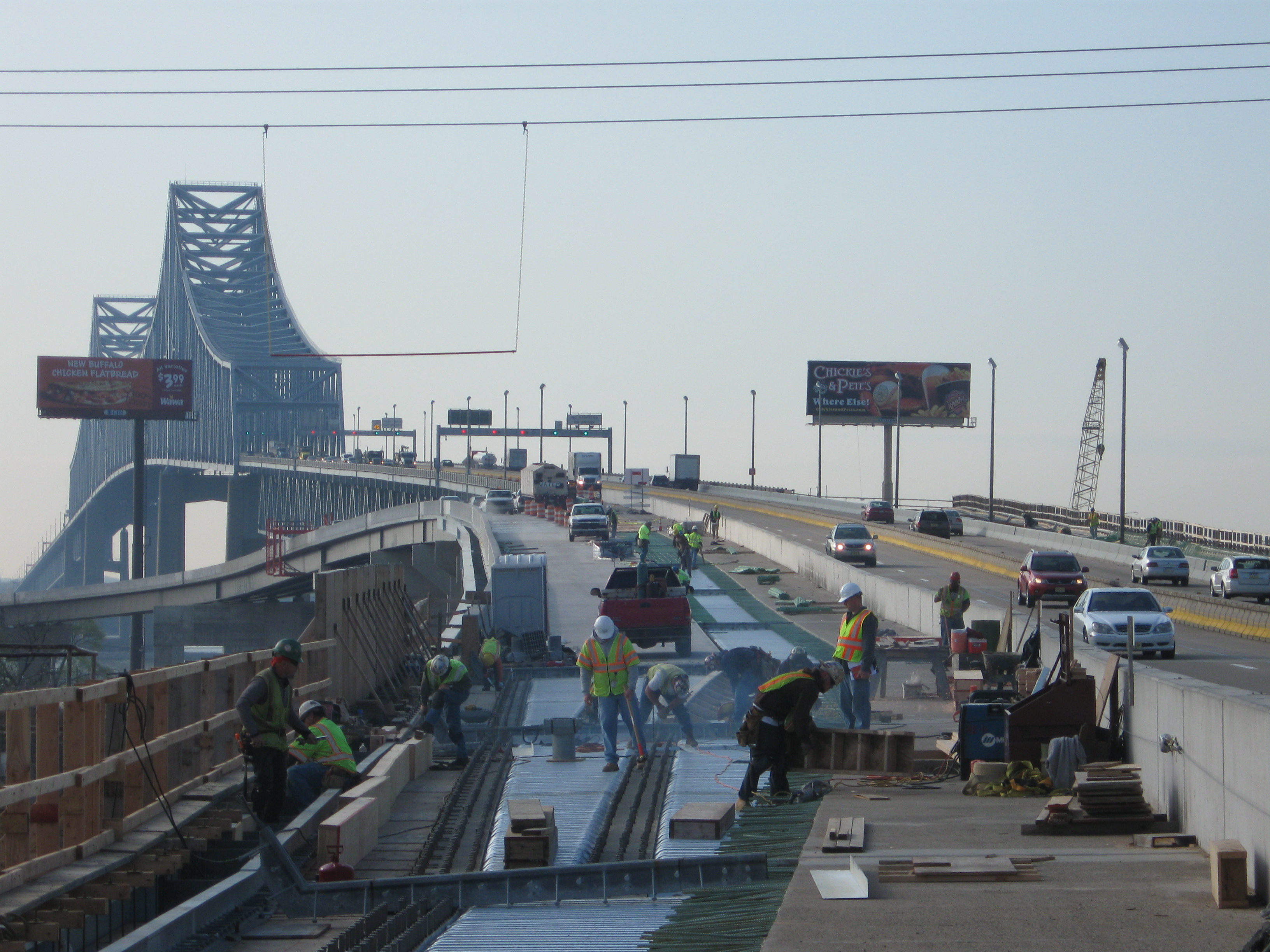 COMMODORE BARRY BRIDGE NEW RAMPS | Driscoll Construction